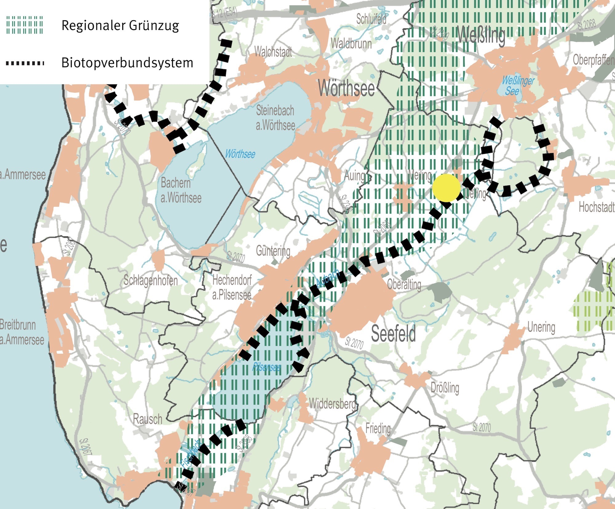 Regionalplan Grünzüge Biotopverbund